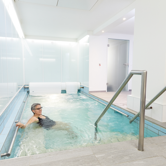 Wassertherapie - Basel - Therapie - Center Neubad